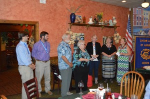 2015-16 officers installed